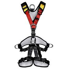 GameTree Rock Climbing Zipline Full Body Safety Sit Seat Belt Protection Harness