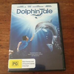 Dolphin Tale DVD R4 Like New! FREE POST