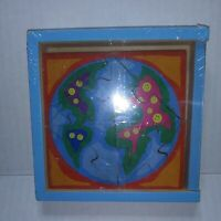 """""""My World"""" My Teeny- Tiny Puzzle. Stand Alone Mini Wooden Puzzle Age 3 & up"""
