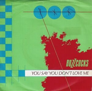 BUZZCOCKS You Say You Don't Love Me Vinyl Record 7 Inch United Artists 1979 Punk