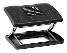 Halter F6068 Adjustable Height Foot Rest with Rollers for Foot Massage Black