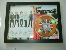 ONE DIRECTION  SIGNED  DISC 6