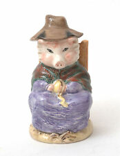 Royal Albert Beatrix Potter Figurine - And This Pig Had None BP-6a