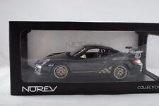 1:18 Norev - PORSCHE 911 GT3 RS gris oscuro - RAREZA - Nuevo en EMB. orig.