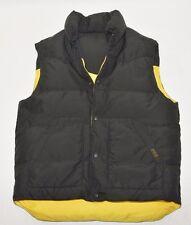 Polo Ralph Lauren Down Vest Puffer Reversible Black/Yellow Men's Size L