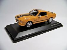 1967 Shelby GT 500 (Orange) 1/43 Scale Brand New in the Box Yat Ming  #43202