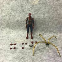 SHF S.H.Figuarts Avengers Infinity War Iron Spider-Man Action Figure Gift In Box