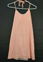 Victoria's Secret Women's Medium Halter Top Tie Striped Spring/Summer Dress