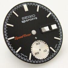 New Dial for Vintage SEIKO Chronograph 6139-6032 Black Speed-Timer speedtimer