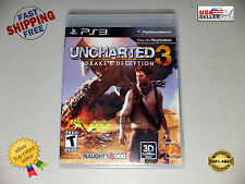 Uncharted 3: Drake's Deception Sony PlayStation 3 PS3 Video Game 2011 MINT