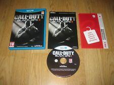 WiiU - Call Of Duty Black Ops II/2 - Completo - Pal España - Nintendo Como Nuevo