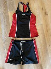 Speedo triathlon Women's 2 Piece Suit Size Large