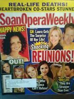LOT OF 4 SOAP OPERA WEEKLY MAGAZINES VINTAGE FROM NOVEMBER 2008