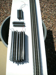 LOT of  SECTIONS of ATLAS O GAUGE 3-RAIL STRAIGHT TRACK USED