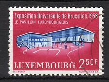 Luxembourg - 1958 Expo Brussels - Mi. 582 VFU