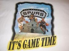 San Antonio Spurs Duncan Ginobili NBA It's Game Time White t-shirt Men's XL used