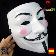 Mascara V de vendetta careta Cosplay disfraz halloween *Envío GRATIS desde Españ