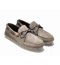 NIB Cole Haan Zerogrand Cmpmc Drvr Men's Loafers Suede Morel Tan Sz 11M C25990