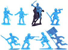 Charbens Recasts - 9-pc Union Infantry - 60mm plastic