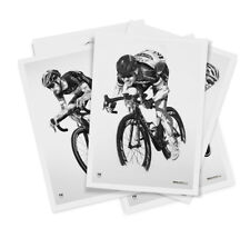 Cycling A2 limited edition art prints, Merckx, Cavendish, Sagan, Cancellara