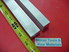 "2 Pieces 3/4"" X 1"" ALUMINUM 6061 FLAT BAR 14"" long .750 Solid New Mill Stock"