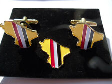 Op Telic Iraq GW2 Cufflink / lapel pin set (Army) Gulf