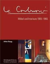 Libro especializado le corbusier, mobiliario y interieurs 1905-1965, obra catálogo reduce nuevo