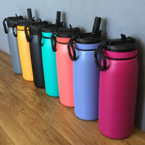 Oasis Sports Bottle 780ml Double Wall Insulated S/Steel with sipper lid BPA Free