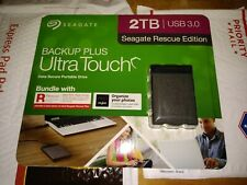 Seagate 2TB Backup Plus Ultra Touch Seagate Edition External USB 3.0 Hard Drive