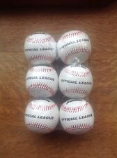 Franklin Official League Baseballs ~ #1538 6 New In Package