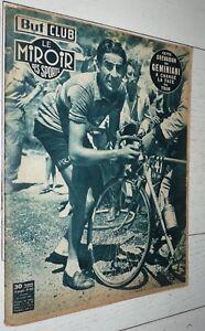 BUT & CLUB MIROIR SPORTS #307 1951 CYCLISME TOUR FRANCE GEMINIANI COPPI KOBLET