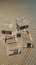 6 Socles, présentoirs  acrylique 25x25 ep20 Présentation Objets, Minéraux