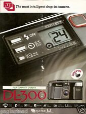 Camera Brochure - Fuji - DL-300 - c1986 (CB71)