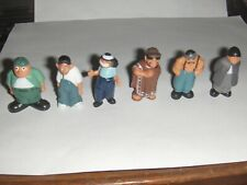 Homies Series 1  New Set Droopy, Big Loco, Sapo, Mr Raza, Smiley, Eightball