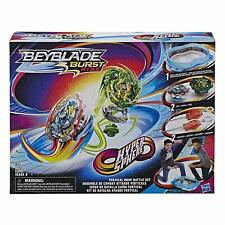 Hasbro Beyblade Burst Turbo Slingshock Cross Collision Battle Set (E5565)