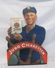 um 1930 JUNO CIGARETTEN Josetti großer REKLAME Aufsteller - sign. KONLINON