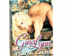 VIDEO TEAMS HOT GINGER LYNN DELUXE PRINT PLAYING CARDS A MUST HAVE FOR COLLECTOR