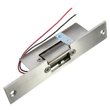 Door Electric Strike Lock NO Narrow-type Electronic Control 12V DC