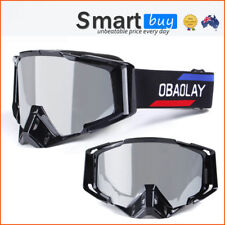 Black Wide Angle Unisex Adults Ski Snow Goggles UV Windproof Anti fog Men Women