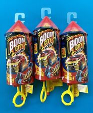 Boom City Racers Single Pack - Rip, Race, Explode Series 1 Vehicles, SET OF 3