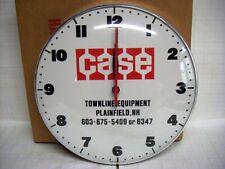 Vintage Case Farm Equipment Advertising Wall Clock - Unused in Original Box