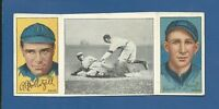 1912 T202 Hassan Triple Folders Grant Gets His Man (Grant, Hoblitzel) - VG/EX+