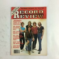 April 1983 Record Review Magazine Journey Looks to New Frontiers Ric Ocasek Ozzy