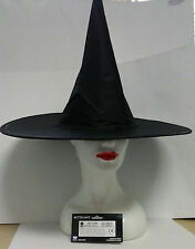 CARNEVALE CARNIVAL TOYS CAPPELLO STREGA NERO BLACK WITCH HAT  ART 5669