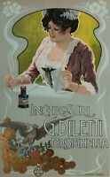 Affiche Originale - Inchiostri - G.Diletti - Brisighella - Encre -1900