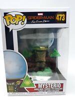 NEW Funko Pop #473 Marvel Spiderman Far From Home Mysterio Vinyl Figure FP20