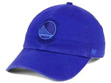 Golden State Warriors 47 Brand Relaxed Fit Clean Up NBA Basketball Cap Dad Hat