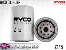 RYCO OIL FILTER SPIN ON FOR DATSUN 180B 1.8L L18S 4CYL 1972 - 1977 Z115