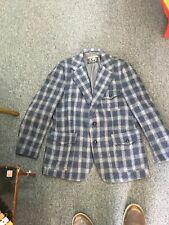 New listing Mens Vtg Wool Harris Tweed Plaid Jacket
