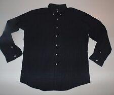 Ralph Lauren blue & green checks shirt - large mens Ellington - S5066
